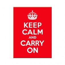 "Магнит ""Keep Calm and Cerry On"""