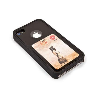 Крышка Balvi для iPhone 4, черная
