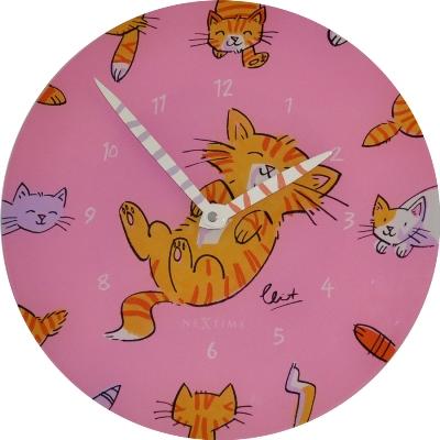 """Часы настенные """"Милые котики"""""""