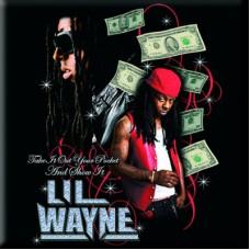 "Магнит ""Lil Wayne: Take it out your pocket?"""
