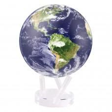 """Гиро-глобус Solar Globe """"Земля в облаках"""" 15,3 см (MG-6-STE-C)"""