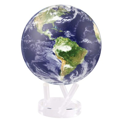 "Гиро-глобус Solar Globe Mova ""Земля в облаках"" 15,3 см (MG-6-STE-C)"