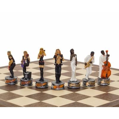 """Шахматы """"Rock Stars vs Jazz Band"""""""