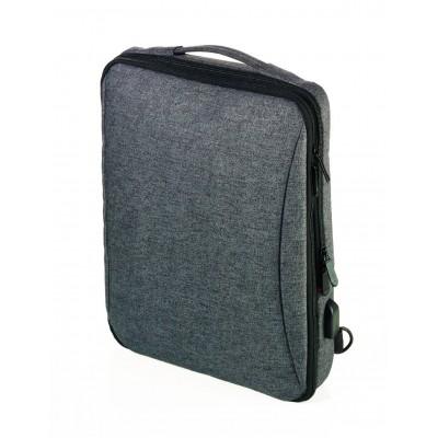 Рюкзак городской с USB зарядкой Troika Saftsack