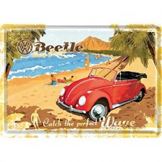 "Открытка ""VW Beetle-Ready for the Beach"" Nostalgic Art (10205)"