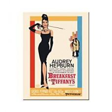 "Магнит 8x6 см ""Audrey Hepburn Breakfast At Tiffanys"" Nostalgic Art (14180)"