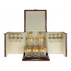 Набор для виски Al Capone  (2 графина + 6 стаканов + 6 рюмок)