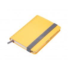 Блокнот с шариковой ручкой Troika Slim желтый