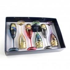 "Бокалы для шампанского ""Premium Veneziano"" 6шт. 160 мл"