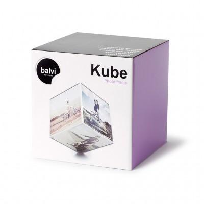 Фоторамка Balvi для фото 15х15см Kube на батарейке