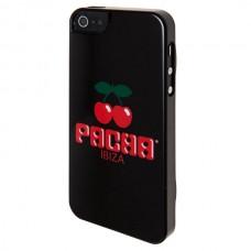 """Крышка для Iphone 5 """"Pacha logo"""", чёрная"""