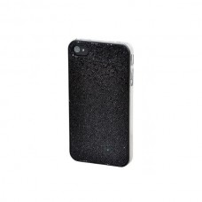 "Крышка для Iphone 4S ""Glitter black"""