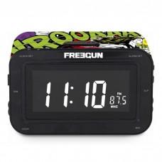 """Радиоприемник с часами """"Freegun"""" 16х10 см"""