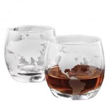 """Набор стаканов для виски """"Вокруг света"""""""