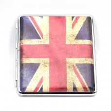 """Портсигар """"UK/USA"""" для 20 сигарет"""