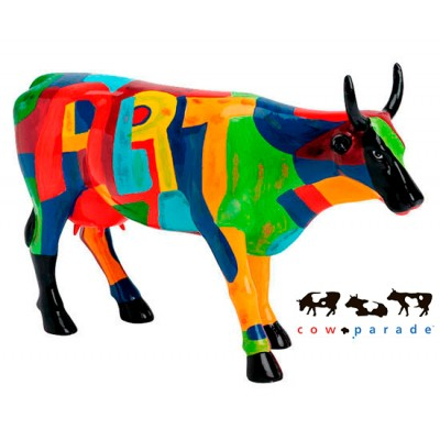 "Коллекционная статуэтка корова ""Art of America"", Size L"