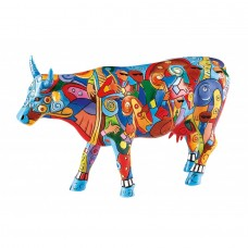 "Коллекционная статуэтка корова ""Music Cow Extravaganza"", Size L"