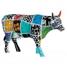 """Коллекционная статуэтка корова """"Cowcado de Impanema"""""""