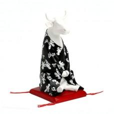 Коллекционная статуэтка корова Meditating