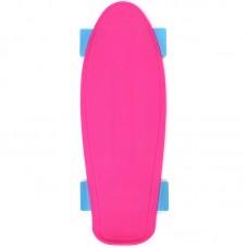Доска разделочная Скейт, розовая