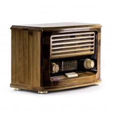 Ретро радио «Малыш» FM-радио, бамбуковый корпус