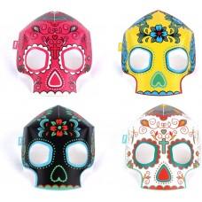 """Набор масок светящихся в темноте """"Skulls"""""""