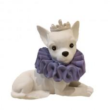 Статуэтка собачка королева высота