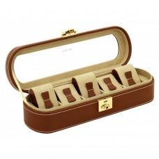 Шкатулка для хранения часов Friedrich Lederwaren Cordoba 5, коричневая
