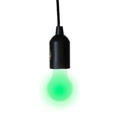 """Светильник в виде лампы """"World's Largest Push Lamp"""", на батарейках"""
