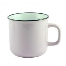 Чашка бежевая, керамика, 9 см