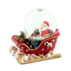 """Снежный шар """"Санта на санках"""""""