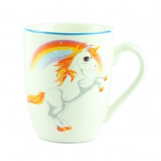 "Чашка ""Единорог белый""  10 см"