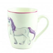 "Чашка ""Единорог серый""  10 см"