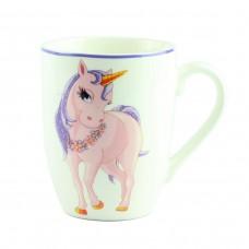 """Чашка """"Единорог розовый""""  10 см"""