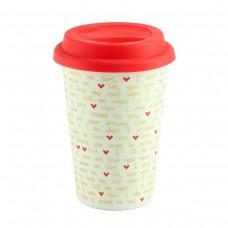 "Термокружка ""Mug to go love"", белая"