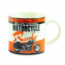 """Чашка """"Motorbike Desing Assorted"""", оранжевая, 9 см"""