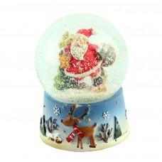 "Снежный шар ""Санта-Клаус"", 9 см"