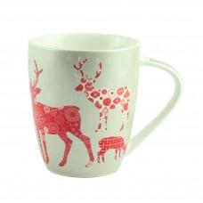"Чашка ""Новогодний олень"" керамика, 10 см"