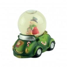 "Снежный шар ""Автомобиль"" зеленый"