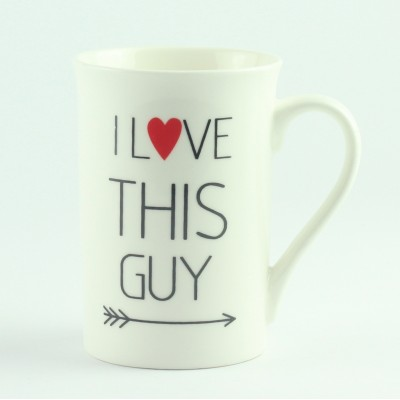 "Набор из 2 чашек ""I Love this Guy"" и ""I Love this Girl"""