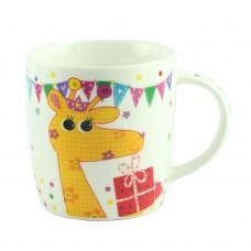 """Чашка  """"CHILDREN ANIMALS"""" жираф, фарфор"""