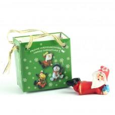 """Статуэтка """"Санта"""" в подарочной упаковке"""