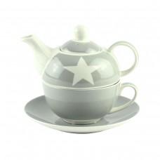 """Набор """"Star"""" (чашка, чайник, блюдце)"""