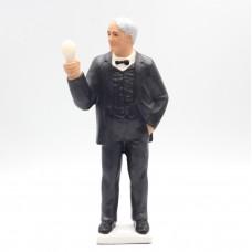 Фигурка Лампа Эдисона с солнечной панелью