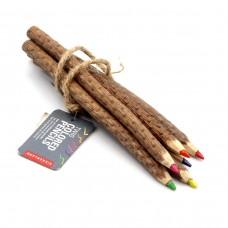 "Набор цветных карандашей ""Лес"" 6 шт."