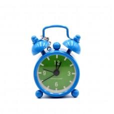 "Часы-брелок ""Мини будильник"" синий"