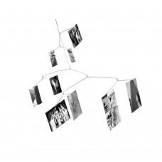 """Держатель для фото подвесной """"Ветвь"""" на 9 снимков"""