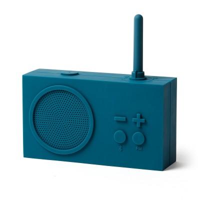 Bluetooth колонка с радио Lexon Tykho 3, темно-синяя