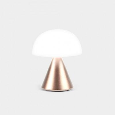 Мини светодиодная лампа Lexon MINA, 8,3 х 7,7 см, золотистый