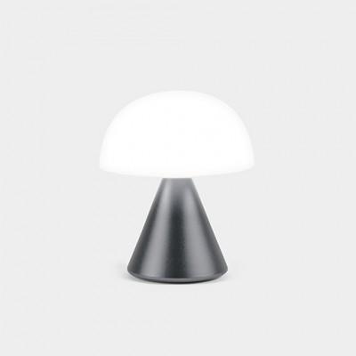 Мини светодиодная лампа Lexon MINA, 8,3 х 7,7 см, черная